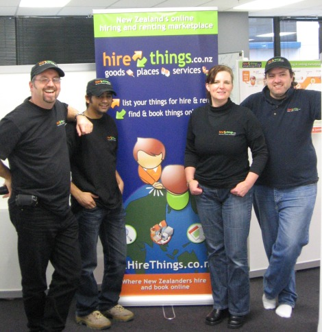 The core Hire Things team